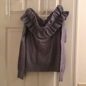 THML off the shoulder sweater.